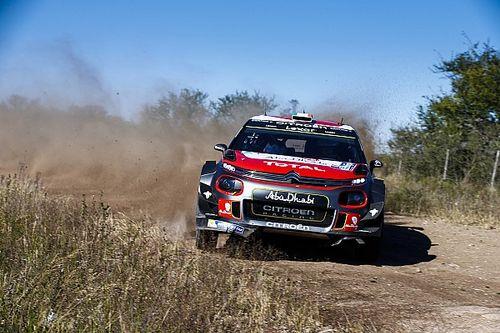 Evans leader à mi-étape, les Citroën abandonnent