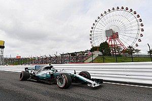 FP3 GP Jepang: Mercedes memimpin, Bottas dan Raikkonen kecelakaan