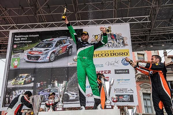 Rallye suisse Interview Ballinari :
