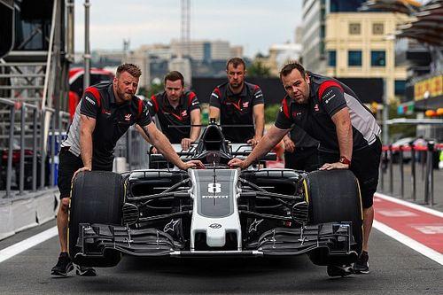 Haas usará 'spotters' en la clasificación de Bakú