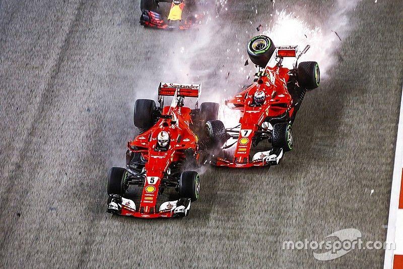 Vettel y Ferrari vuelven al lugar donde una caótica salida rompió su sueño