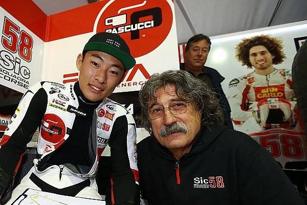 """Moto3 Entrevista Chefe na Moto3, pai de Simoncelli revela: """"ainda é difícil"""""""
