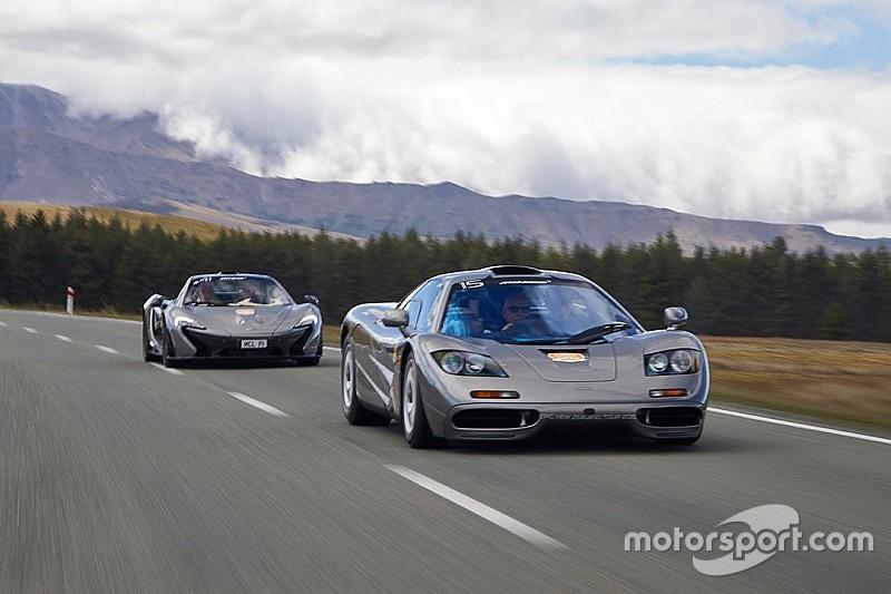 Une McLaren F1 accidentée en Nouvelle-Zélande