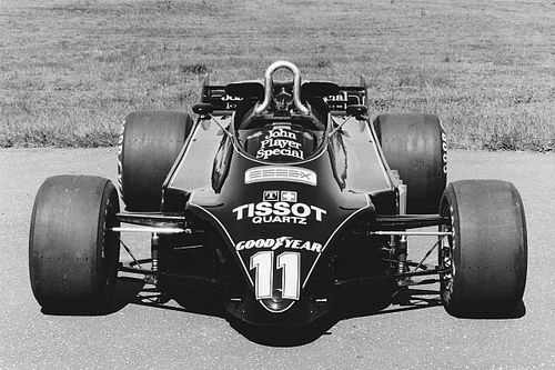 Retro: Het bijzondere ontwerp van de verboden Lotus 88 F1