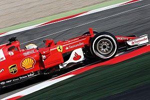 【F1】合同テスト1日目午前:ベッテル首位。マクラーレンはトラブル
