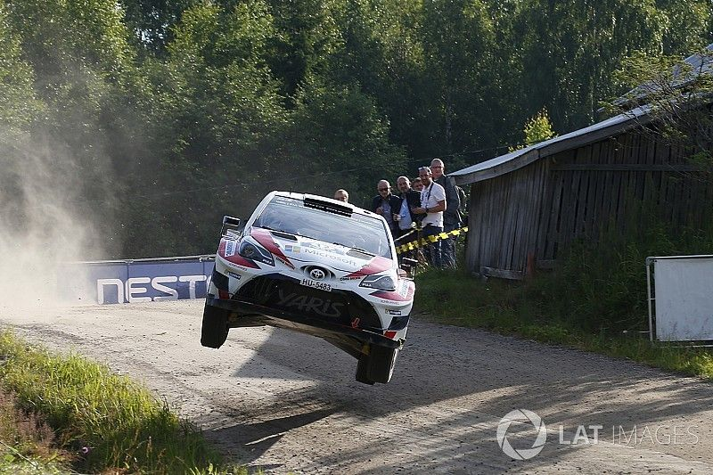 Finland WRC: Lappi stays in front of three-way fight