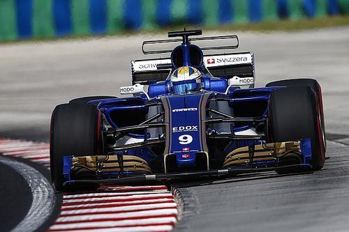 Sauber in Ungarn zum 1. Mal in der F1 2017 mit voller Motorleistung
