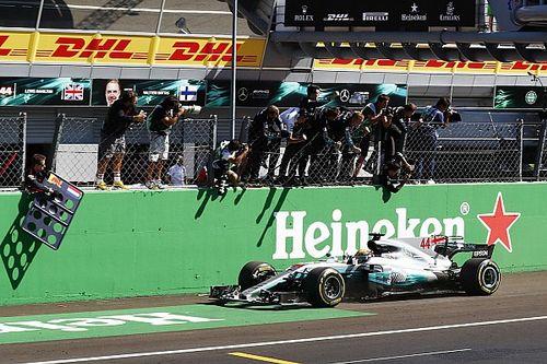Italian GP: Hamilton leads crushing Mercedes 1-2 to take points lead