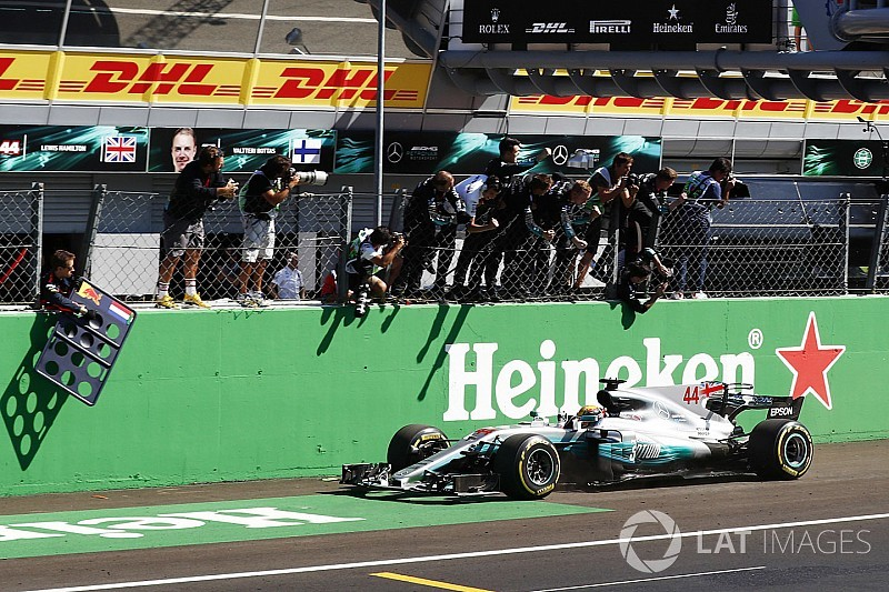 Italian GP: Hamilton leads crushing Mercedes 1-2 to take points lead