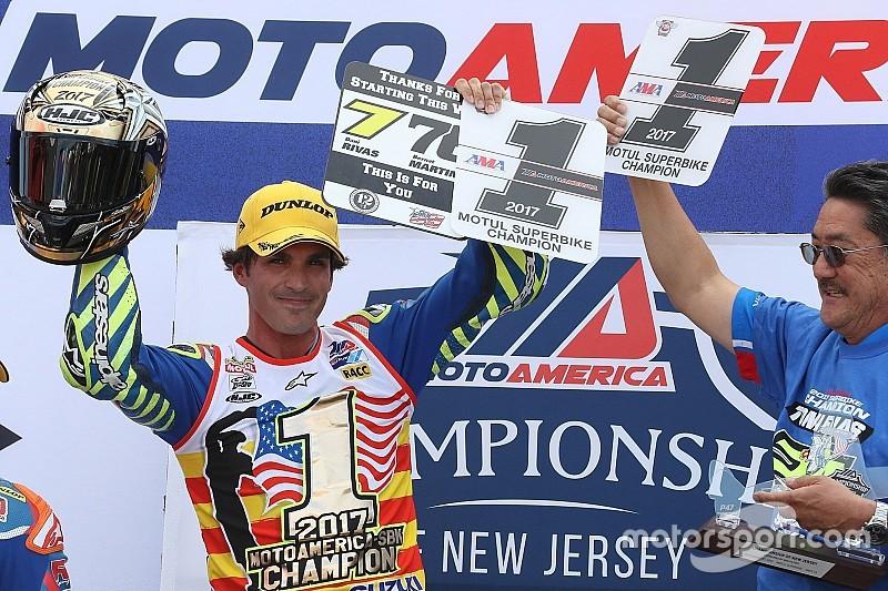 Il redivivo Elias vince con Suzuki il titolo americano Superbike 2017
