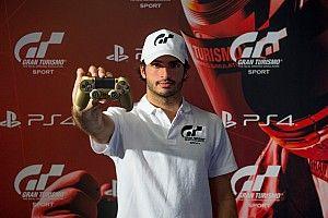 Carlos Sainz, embajador de GT Sport