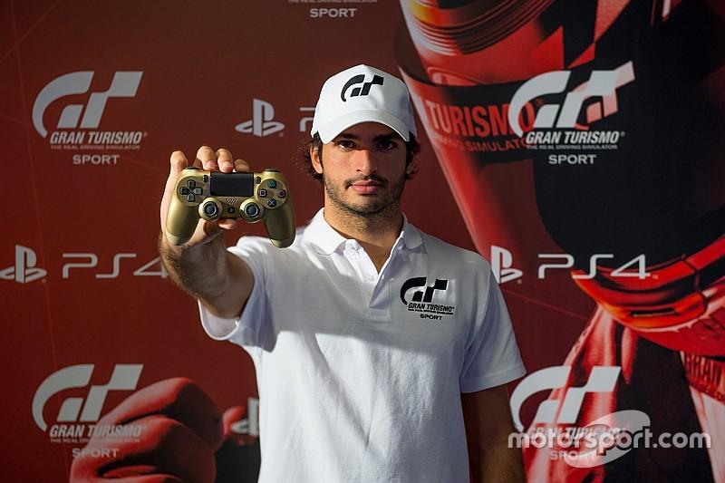 Карлос Сайнс став послом GT Sport