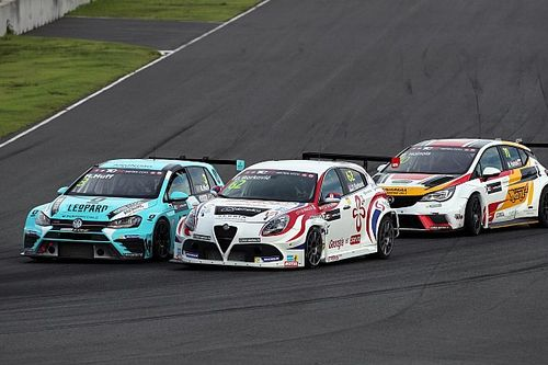 The Alfa Romeo Giulietta TCR by Romeo Ferraris back to the podium in Thailand