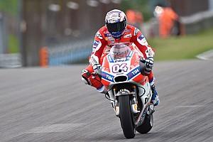 MotoGP Reporte de pruebas Dovizioso manda en el primer ensayo con el nuevo asfalto en Sachsenring