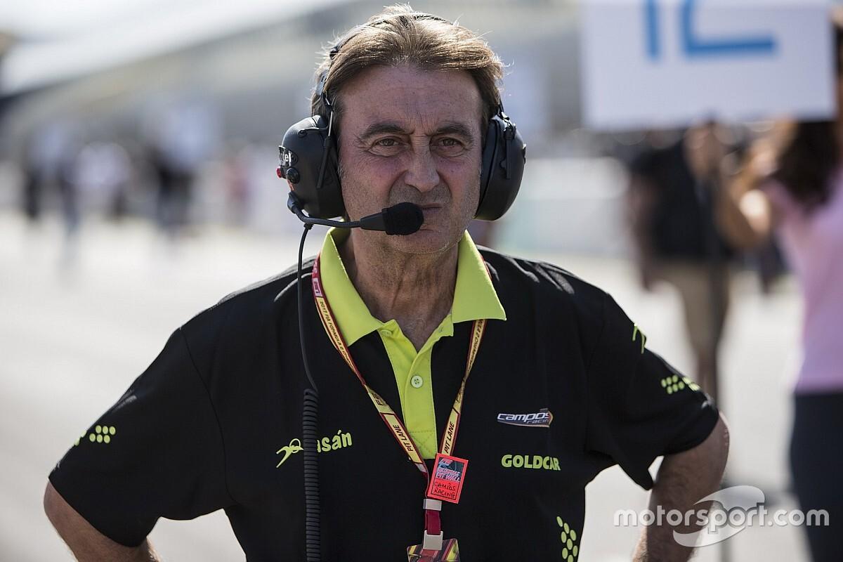 El ex piloto y jefe de equipo Adrián Campos ha fallecido