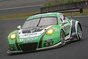 D'station Porsche初PP獲得。荒聖治「今季最後に良いレースをしたい」