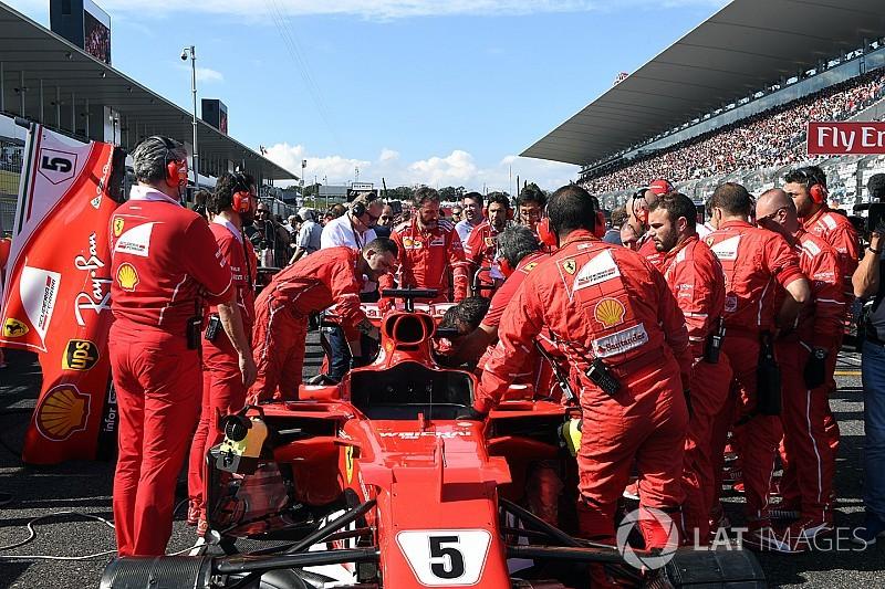 Ferrari necesitaba 20 minutos para solucionar el problema de Vettel