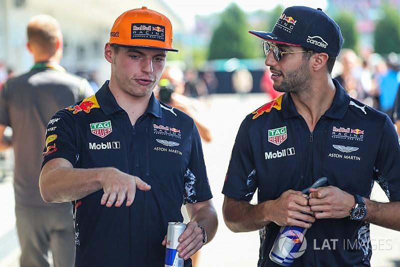 """Verstappen: """"Het liefst rijd ik ook na 2018 met Ricciardo"""""""