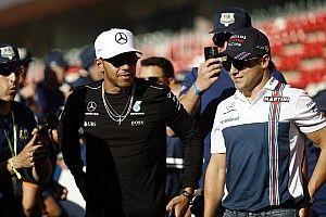 Hamilton é do nível de Senna e Schumacher, elogia Massa