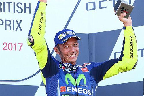 Rossi dacht 300ste MotoGP-race te kunnen winnen, maar is tevreden