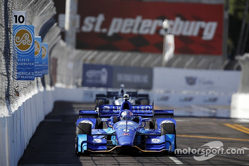 IndyCar St Petersburg: Dixon sluit trainingen af als snelste, Honda maakt indruk