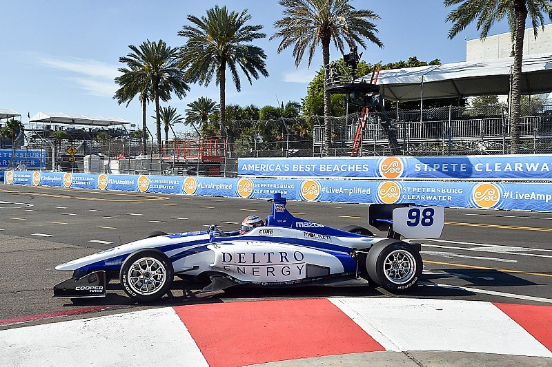 St Pete Indy Lights: Herta holds off Urrutia for Race 2 win