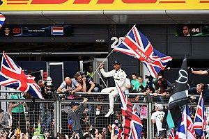 英国大奖赛正赛:汉密尔顿主宰银石