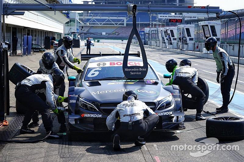 DTM-Test Hockenheim 2017: Mercedes erneut an der Spitze