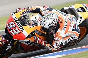 MotoGP Argentina: Marquez start terdepan dan cetak rekor pole