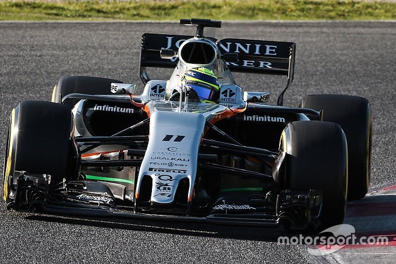 """Force India: Pérez """"déjà optimiste pour Melbourne"""""""