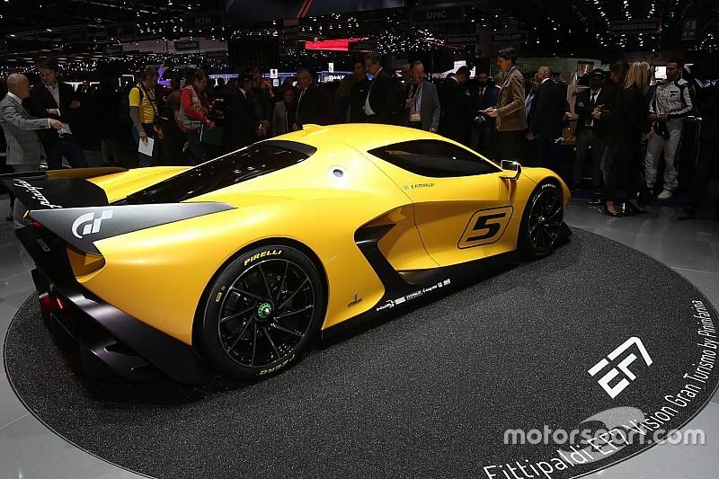 Emerson Fittipaldi präsentiert neuen Supersportwagen EF7 in Genf 2017