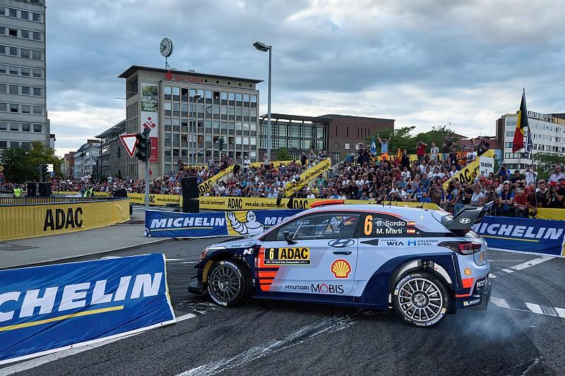 Volle Action in und um St. Wendel bei der Rallye Deutschland