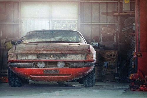 Wie koestert wel deze unieke Ferrari-schuurvondst?