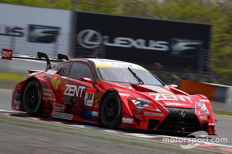 Fuji Super GT: Tachikawa takes pole as Lexus dominates