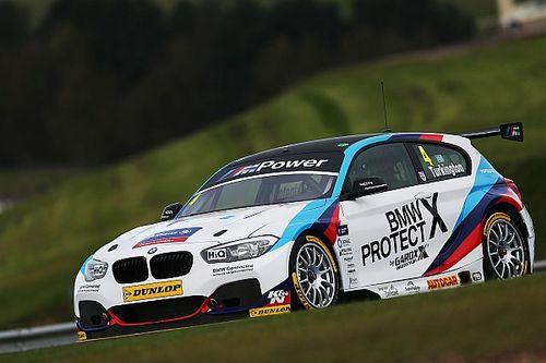 Thruxton BTCC: Turkington takes BMW's 100th win in Race 3