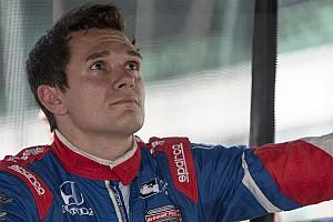 IndyCar Новость Алешин назвал причины своего успеха в Детройте
