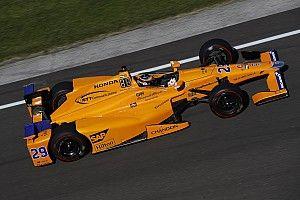 Képgaléria Alonso teszteléséről: IndyCar
