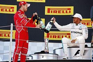 Hamilton senang bisa berduel melawan Vettel