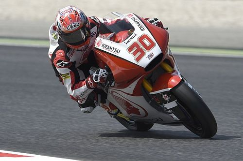 【Moto2】バルセロナ予選:中上貴晶は4番手。マルケスがポール獲得