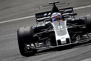 Haas F1 avec les freins Carbone Industrie à Silverstone