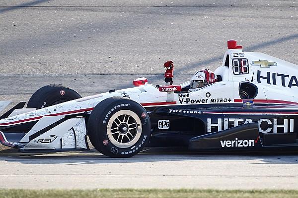 IndyCar Кастроневес одержал победу в гонке IndyCar в Айове, Алешин сошел