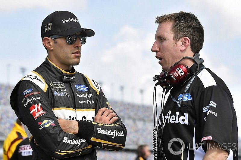 """Aric Almirola on strong start: """"We're going to be in contention"""""""