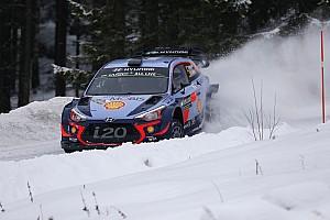 WRC Etap raporu 2018 İsveç Rallisi'nde zafer Hyundai'den Neuville'nin!