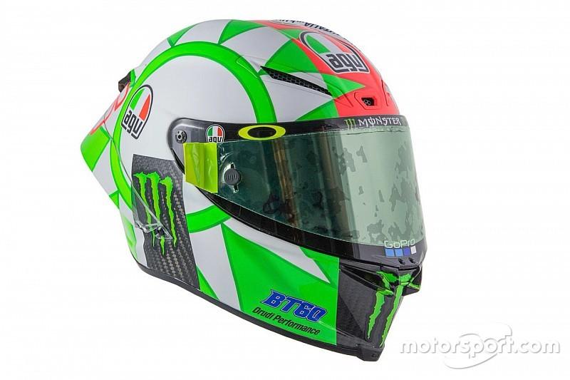 Rossi onthult speciale helm voor Mugello