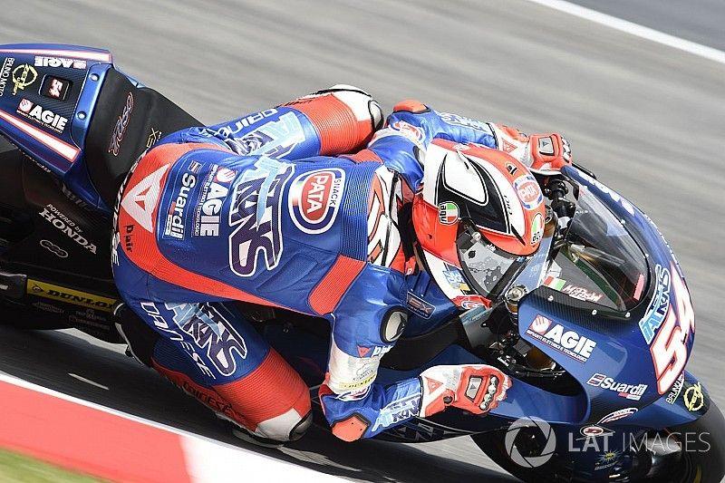 Moto2 Mugello: Pasini voert derde training aan