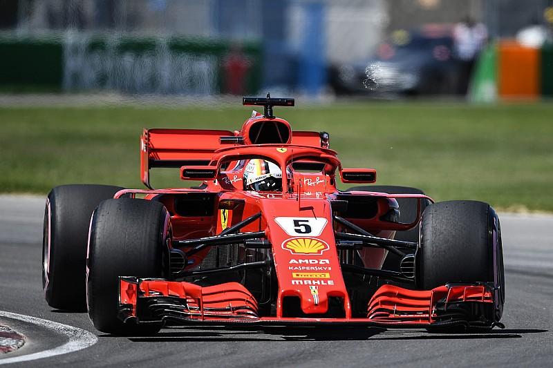 Kanada'da günün pilotu Sebastian Vettel oldu!