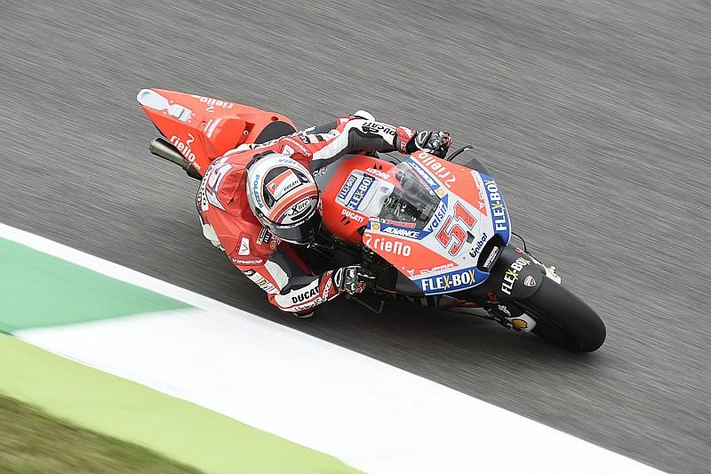 MotoGP Mugello: Horrorsturz von Pirro überschattet FP2