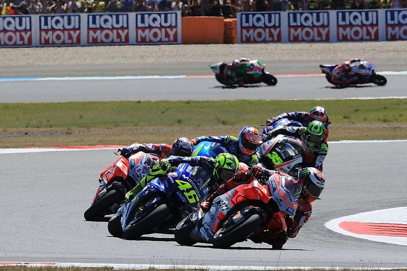 """""""Großes Glück"""": Rossi und Lorenzo schildern Beinahe-Crash in Assen"""