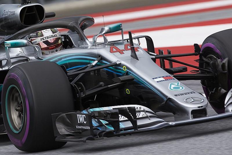 Mercedes verwacht geen schade aan motor Hamilton na DNF Oostenrijk