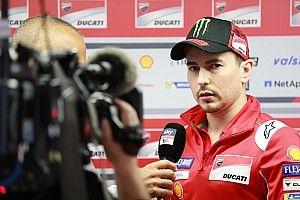 Lorenzo responde a los comentarios del jefe de Ducati Domenicali